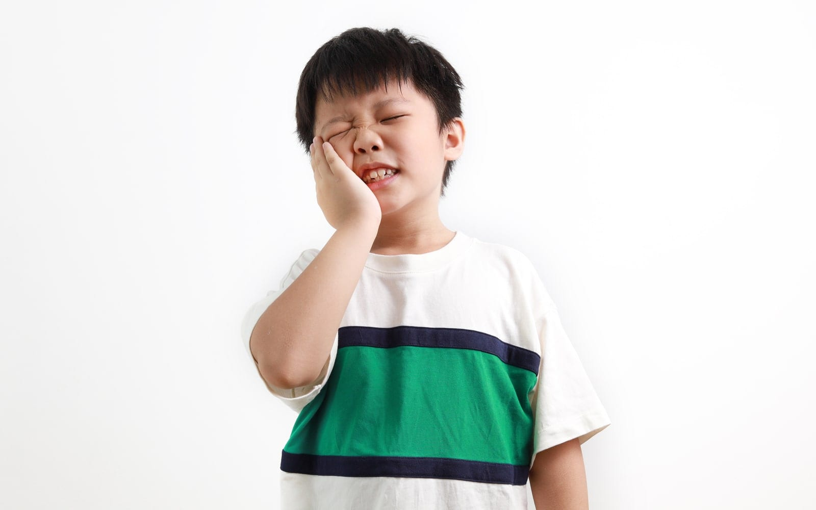 Child Experiencing Dental Pain